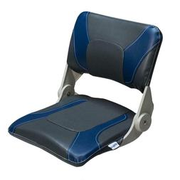 Compact Folding Fishing Seats Charcoal and Blue