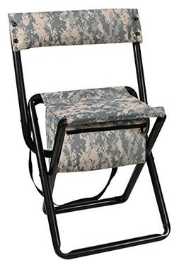 Rothco Deluxe Stool with Back & Pouch, ACU Digital
