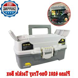 Fishing Tackle Box Plano One Tray Outdoor Gear Hooks Lures L