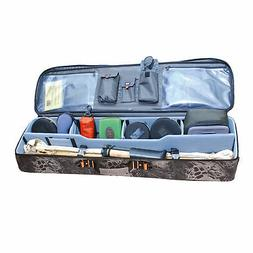 GPS Fly Rod and Reel Travel Case Fly Fishing Gear Tackle Box