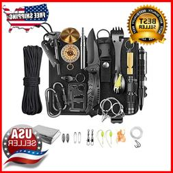 Kit 30in 1 Survival Gear Equipment Survival Cool Camping Hik