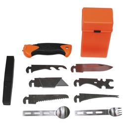 MFH Kit Survival Camping Fishing 27 Pieces Combat Special