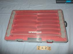 T5642 AR  RED Shimano Lure Storage Tackle Box