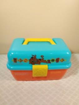 Vintage Scooby Doo Kids Tackle Box Fishing Gear Shakespeare